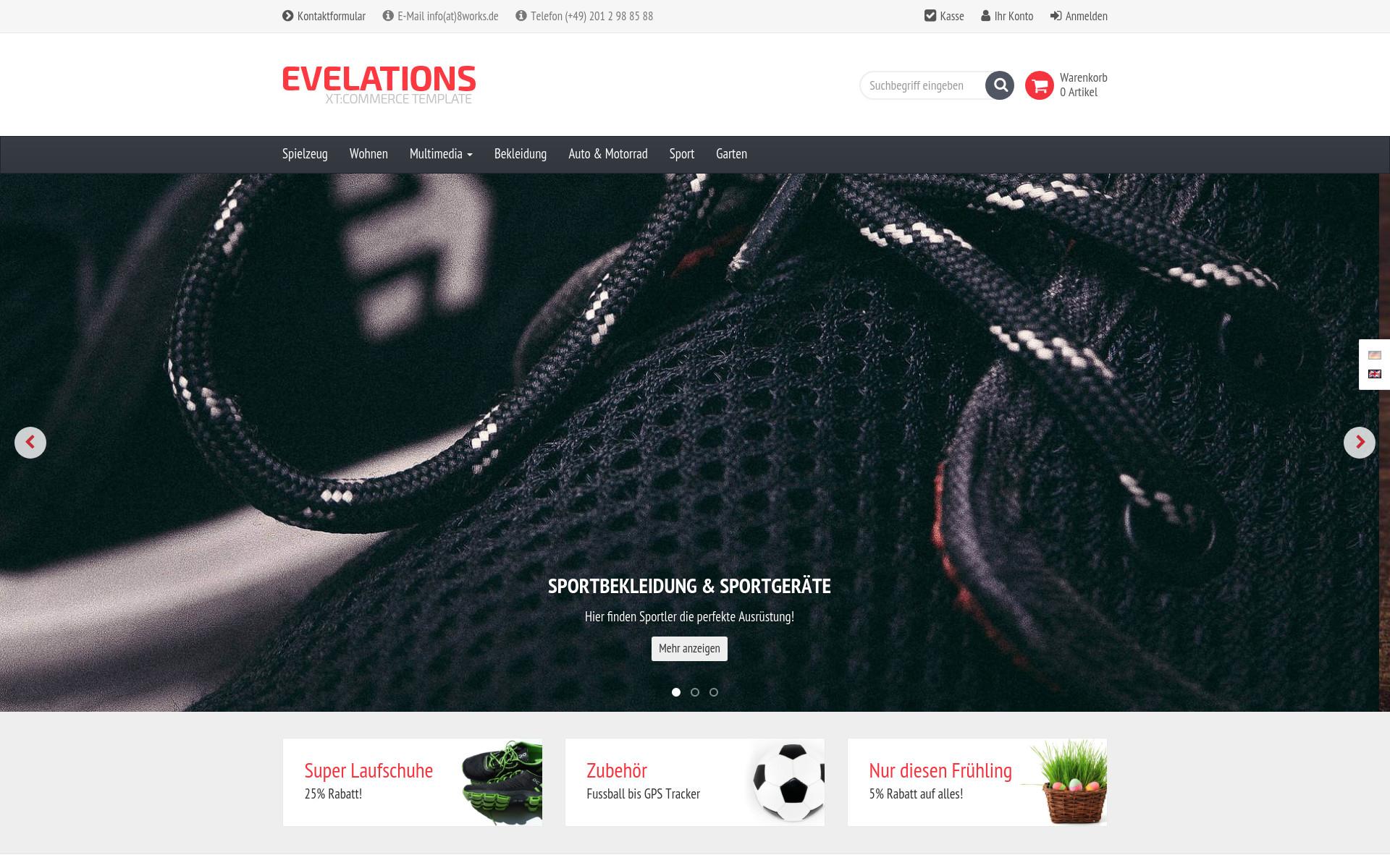 Evelations in Version 5.x verfügbar!