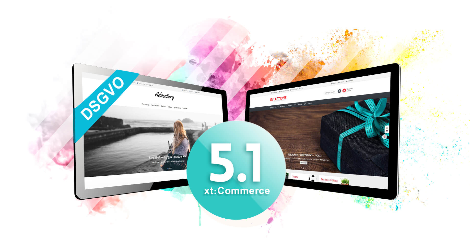 xt:Commerce 5.1 Templates verfügbar