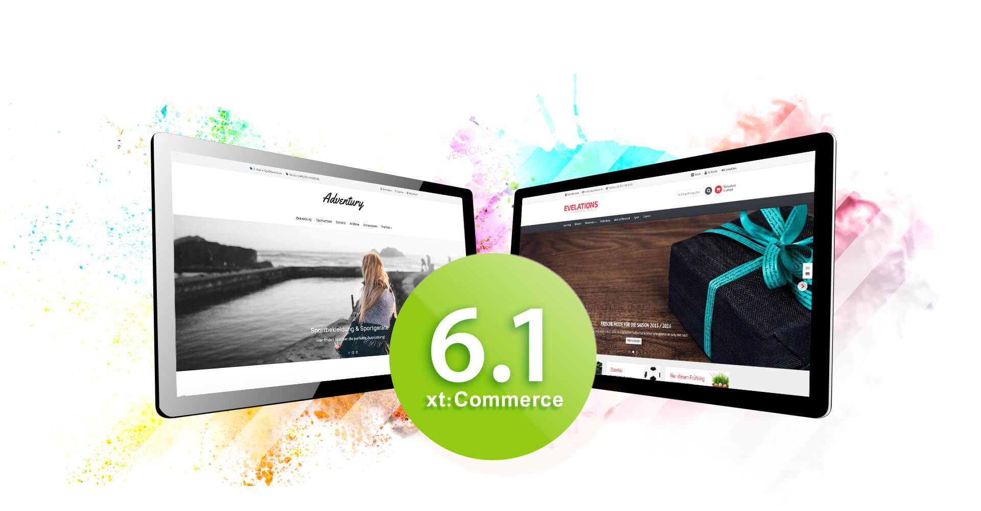 xt:Commerce 6 Templates verfügbar