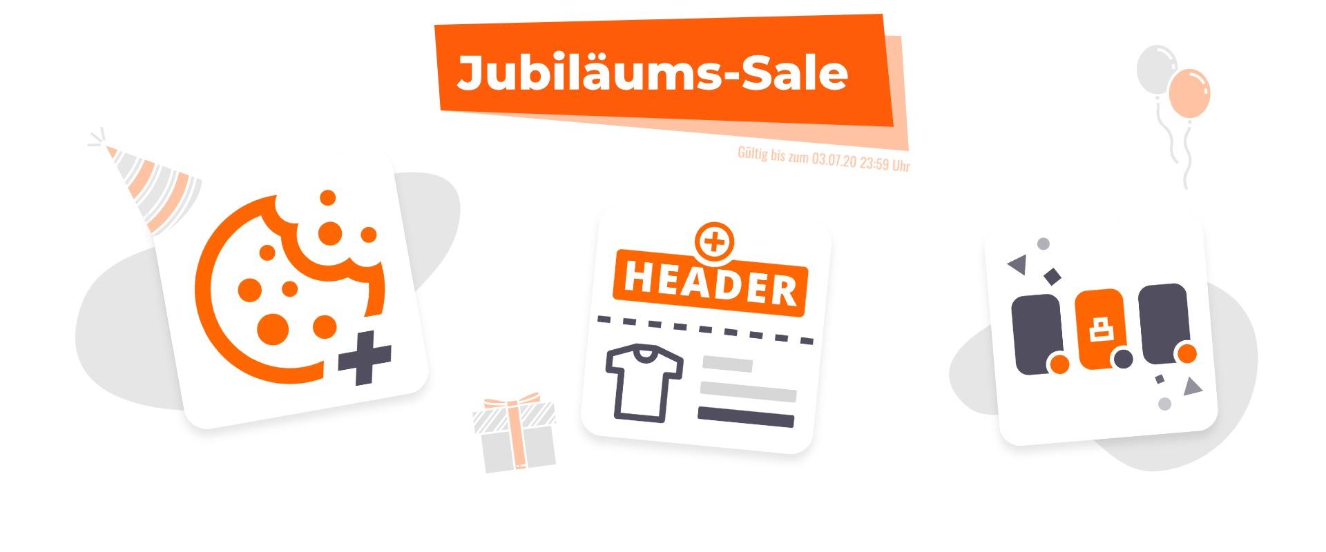 Shopware Jubiläums-Sale - Bis zu 35% Rabatt auf unsere Plugins