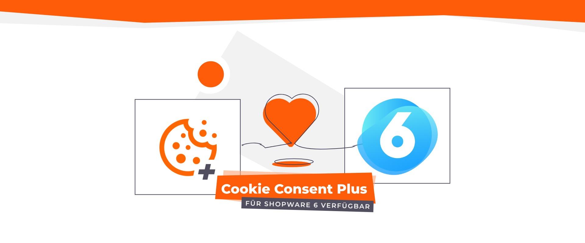 Jetzt auch für Shopware 6: Cookie Consent Plus Plugin