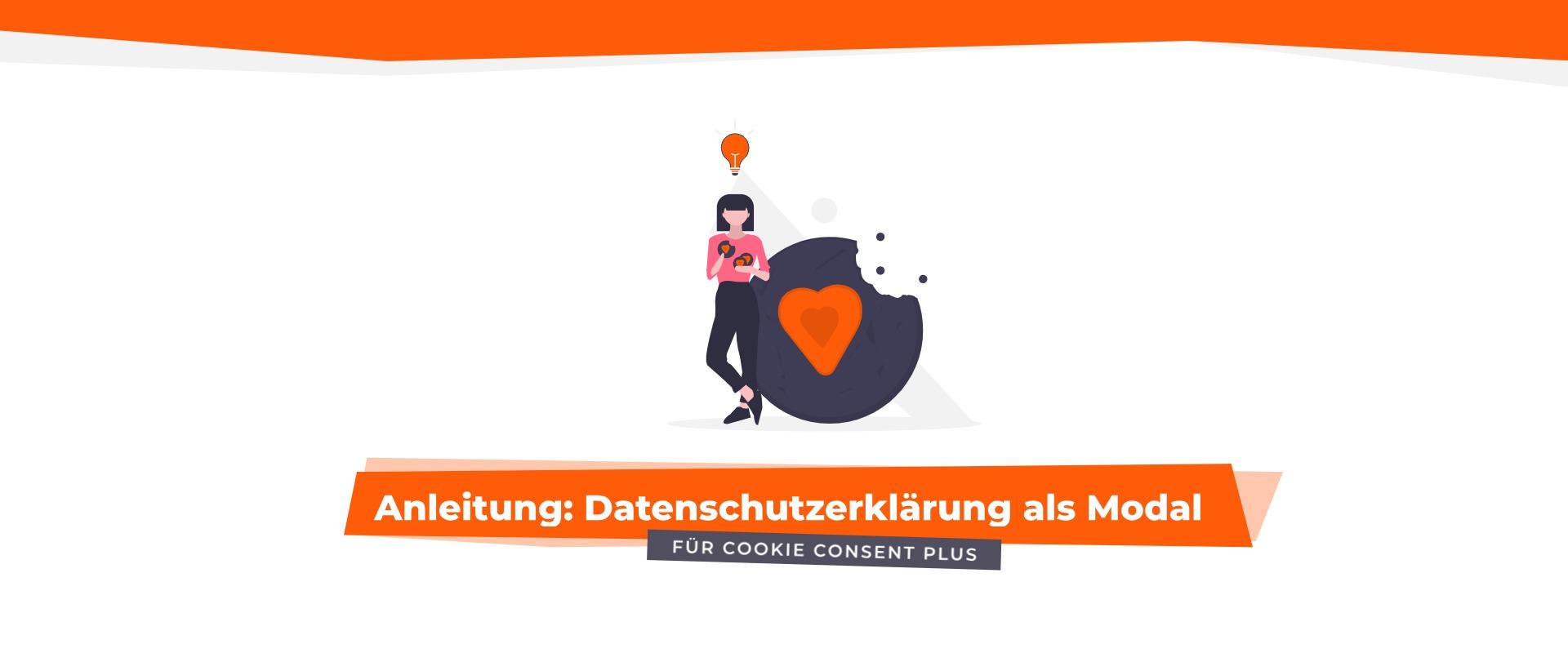 Anleitung: Datenschutzerklärung als Modal in Cookie Consent Plus für Shopware